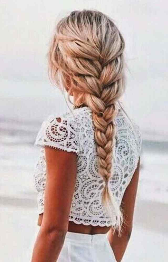 50 inspiring ideas for french braids that stand out in 2019