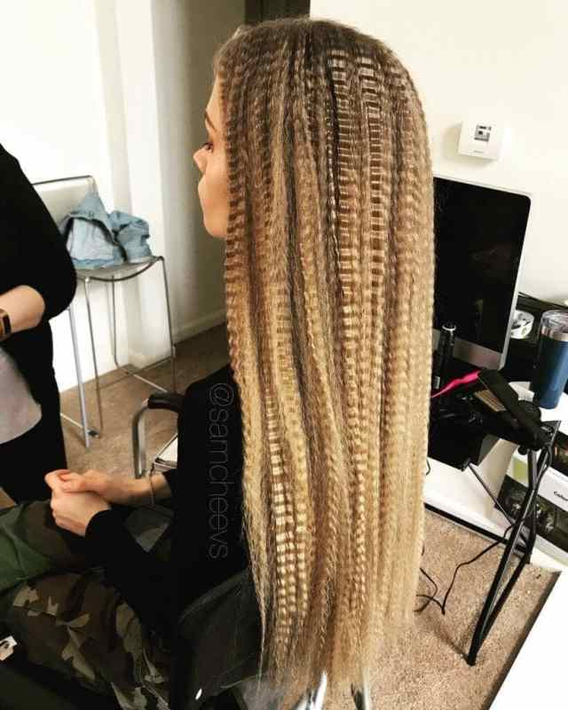 50 sexy crimped hair ideas that will make you feel daring