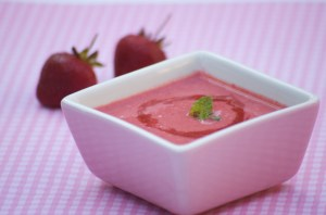 strawberry soup