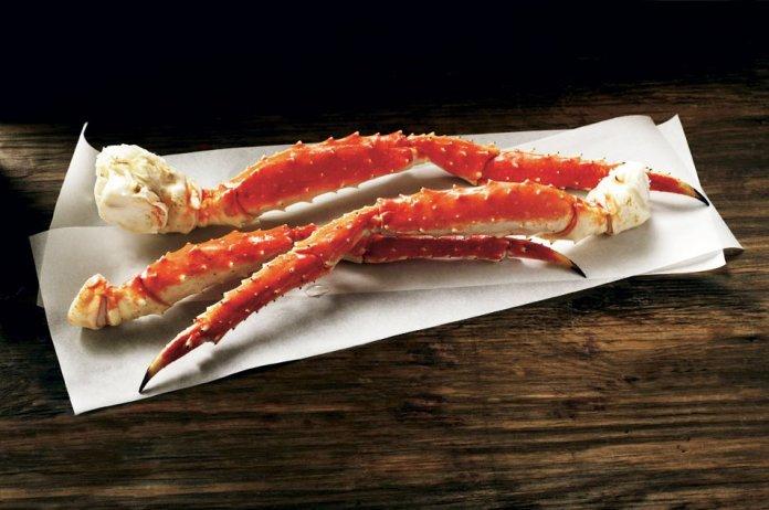 king crab legs crustaceans