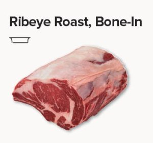 rib eye roast bone in