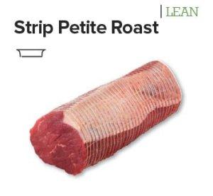 strip petite roast