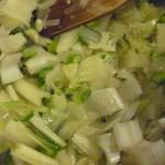 Sweating Vegetables