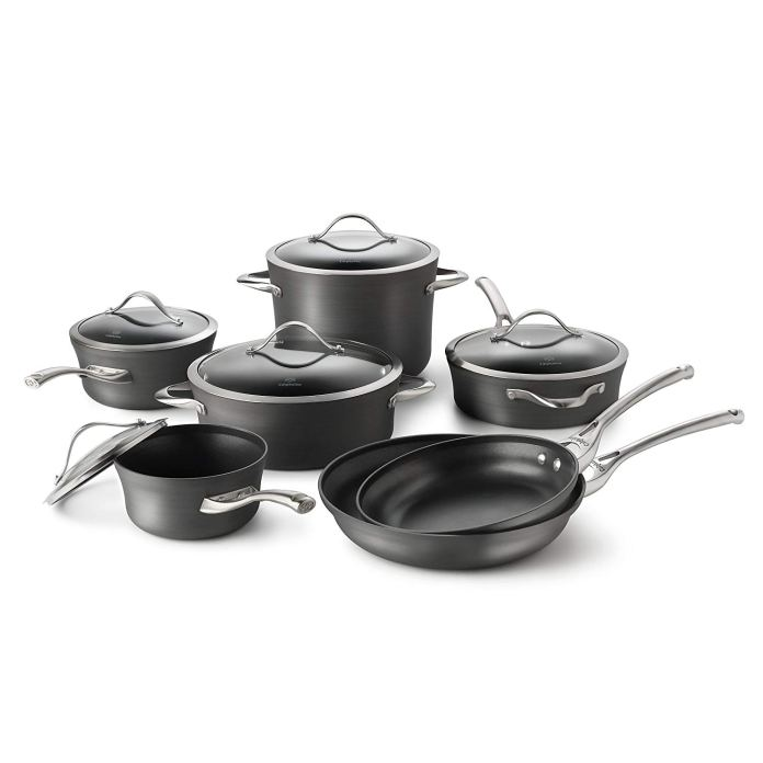 caphalon cookware set non-stick
