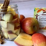 Recipe by Kristen Coffield for acto-Fermented Apples and Cinnamon