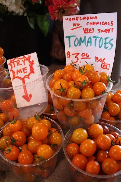 Yes please, tomato freebies
