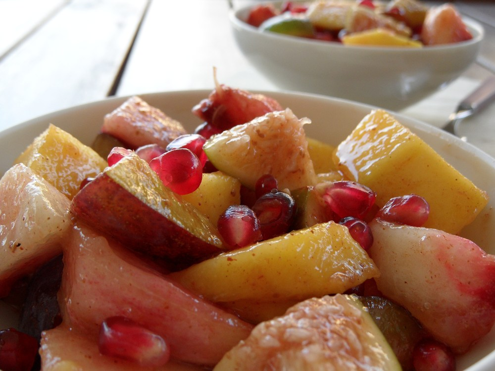 Early Autumn Fruit Salad (1/3)