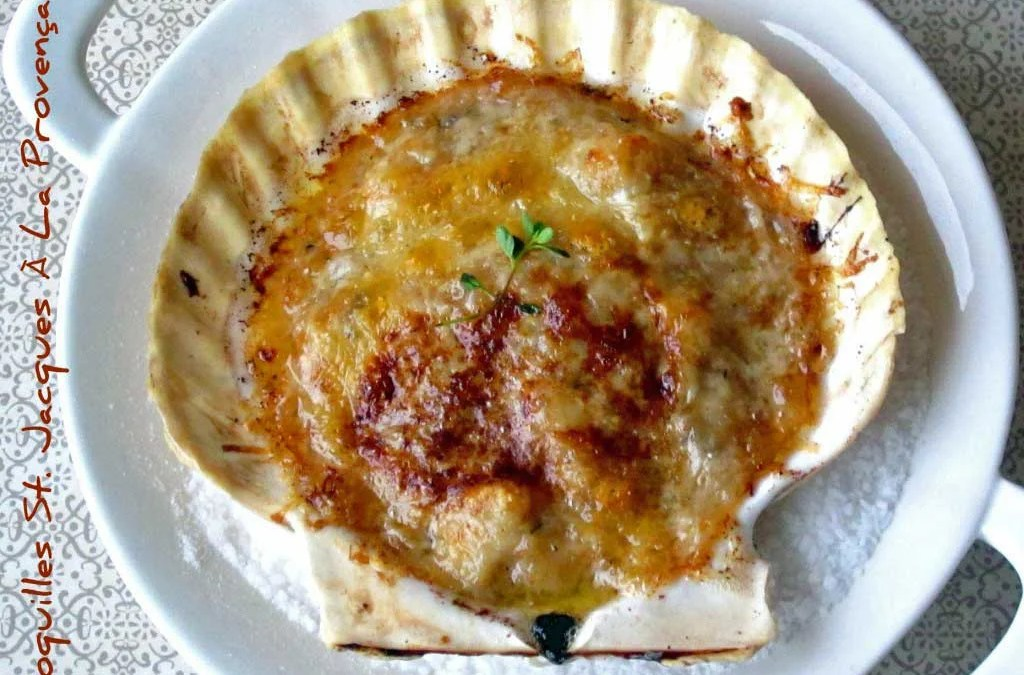 Julia Child's Coquilles St. Jacques À La Provençale