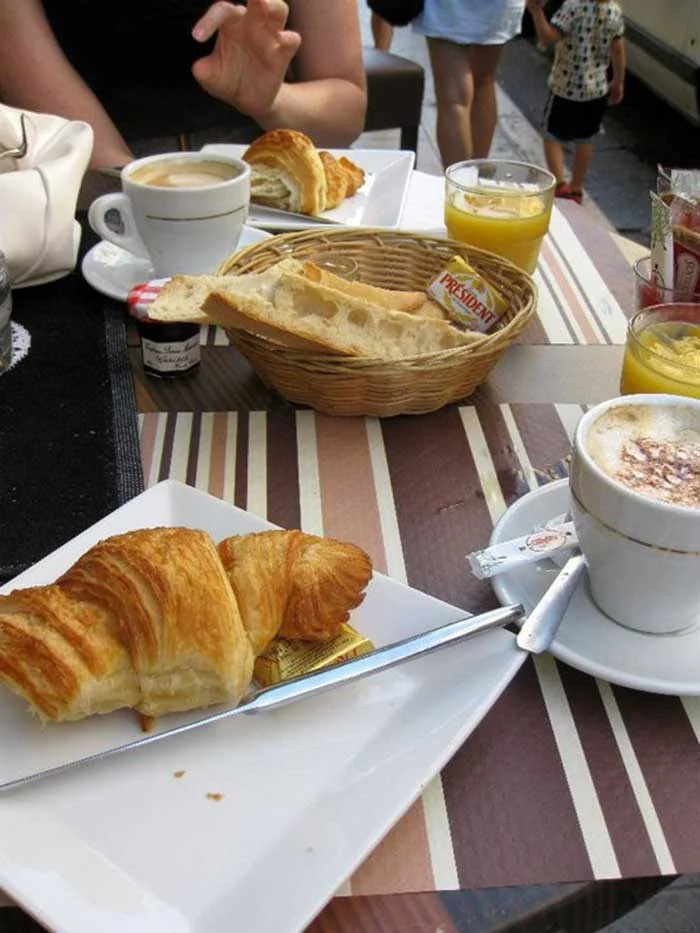 Breakfast in Paris | TheCulinaryTravelGuide.com
