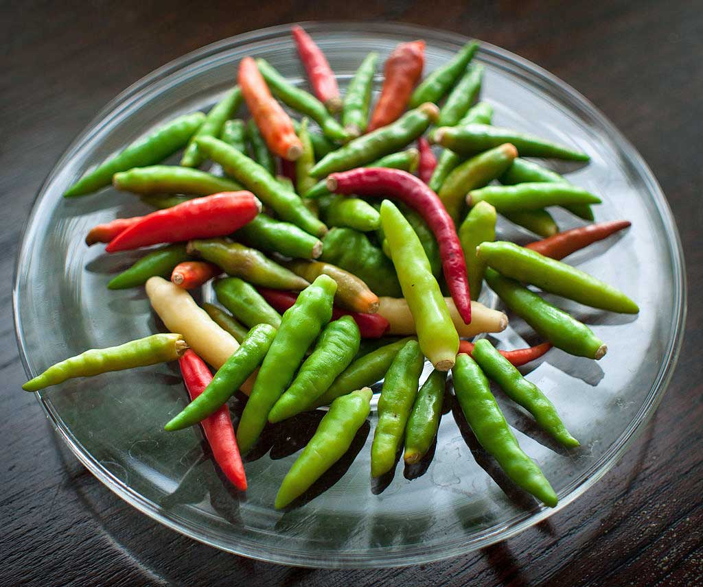 Thai Bird's Eye Chillies, Bangkok | TheCulinaryTravelGuide.com