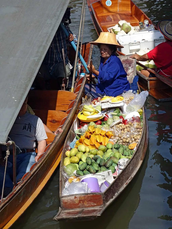 Floating Market, Bangkok | TheCulinaryTravelGuide.com