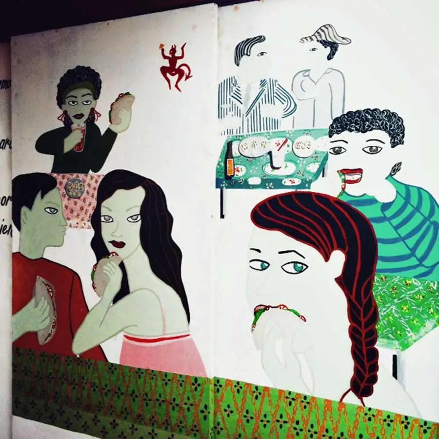 Street Art at Asi & Asago, Cabo San Lucas