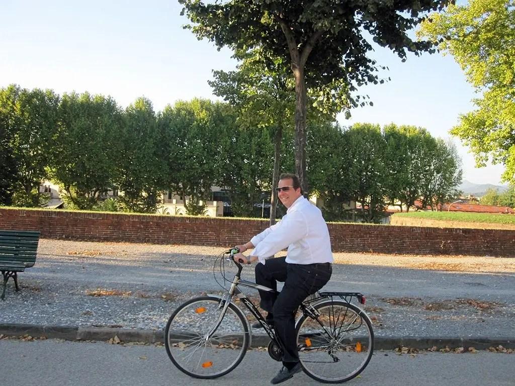Allan Shewchuk in Lucca
