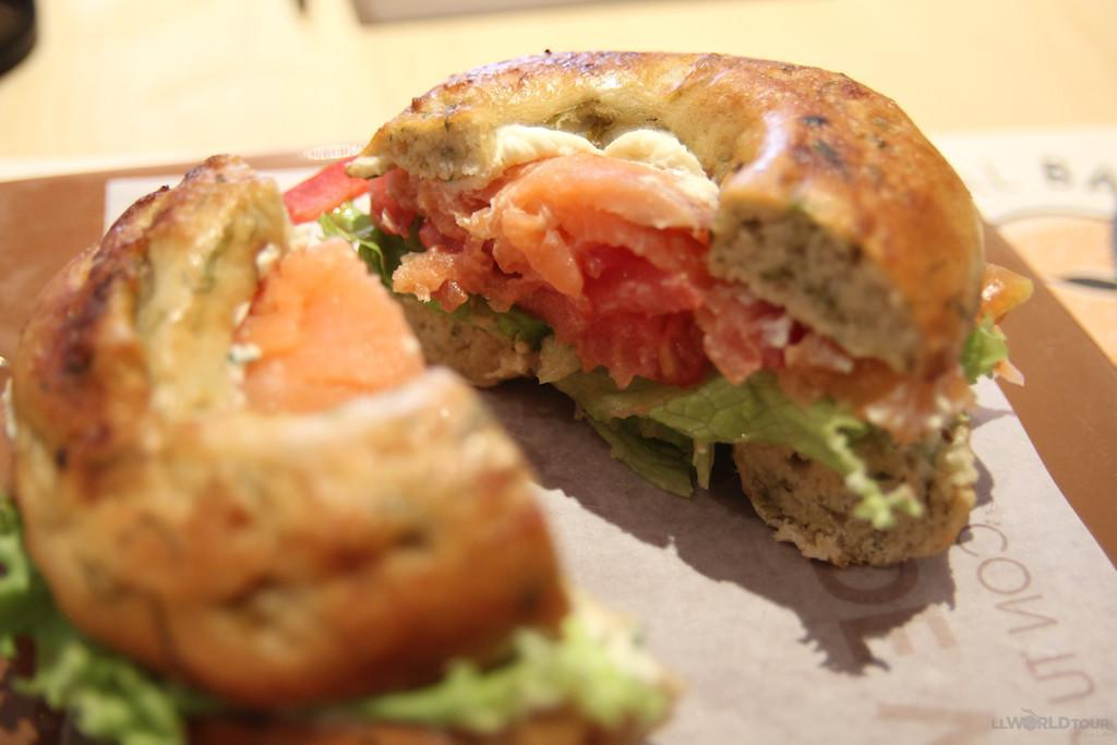 Bagel and Lox (photo by LLWorldTour) | TheCulinaryTravelGuide.com