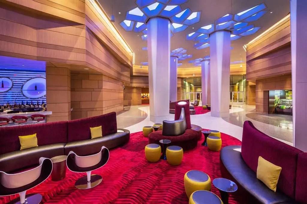 Potawatomi Hotel & Casino Lobby | TheCulinaryTravelGuide.com