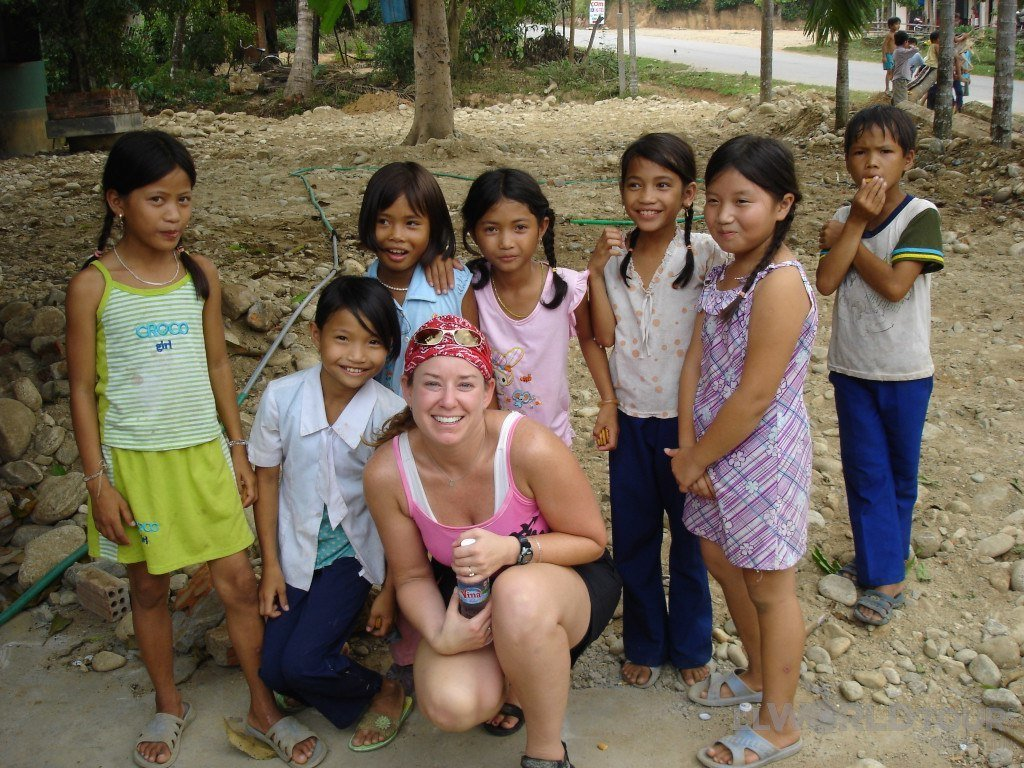 Lisa Lubin in Vietnam | TheCulinaryTravelGuide.com