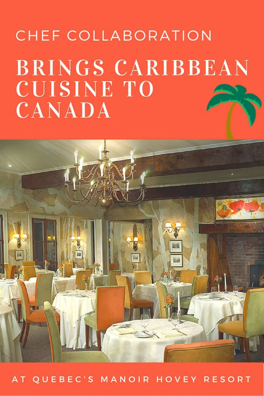 Two of the finest Relais & Chateaux resorts are making a splash on June 30th at Quebec's Manoir Hovey. Canadian cuisine will give way to offerings such as Mini Mofongo with Maine Lobster, Yuca Mangu with Quail Egg Yolk and Summer Truffle, and Risotto with Aji Panca. Read on for details and a recipe for Red Snapper and Tuna Tartar!