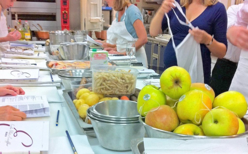 Find out what it's like to take a cooking class at the Ecole Ritz Escoffier in Paris