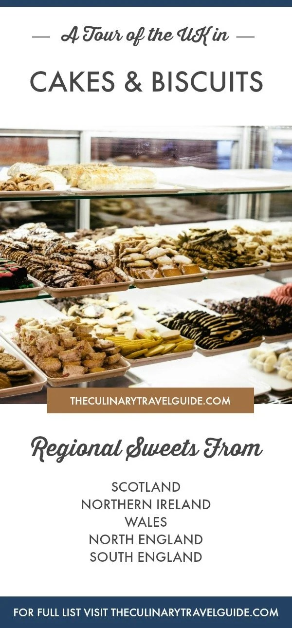A Tour of the United Kingdom in Cakes & Biscuits