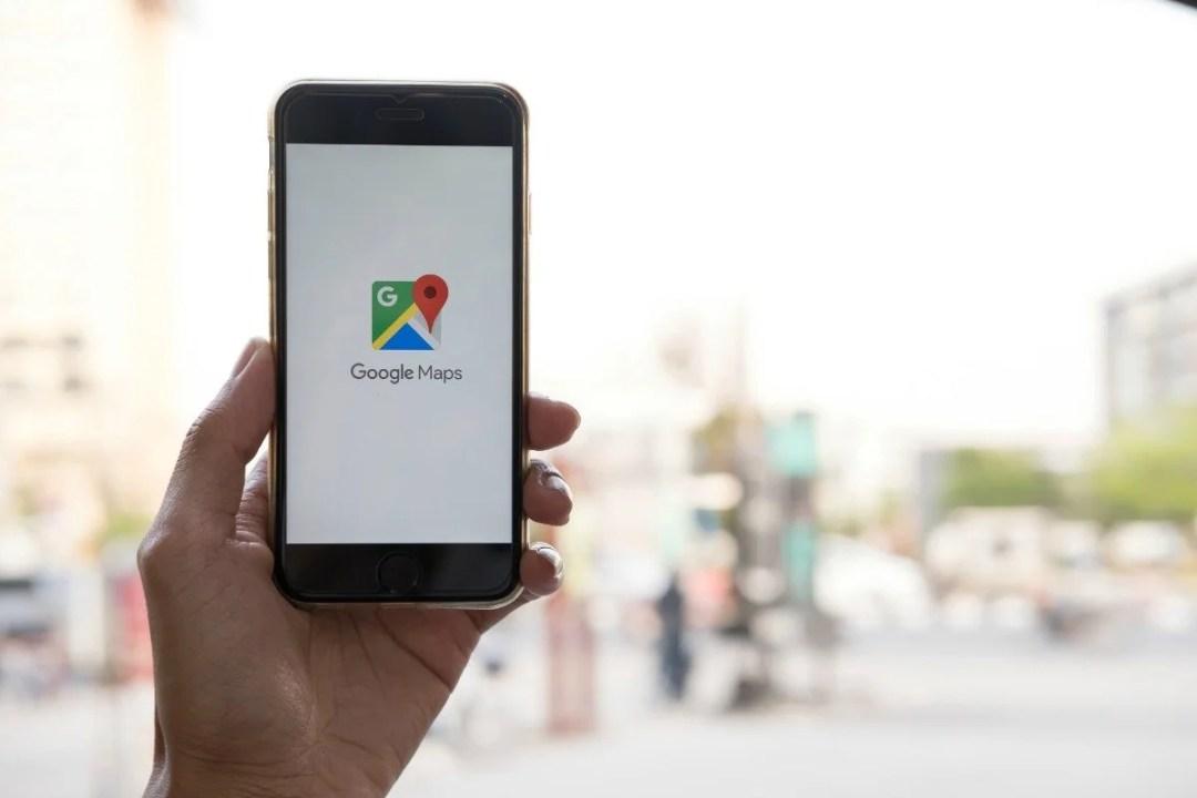 Google Maps App on iPhone