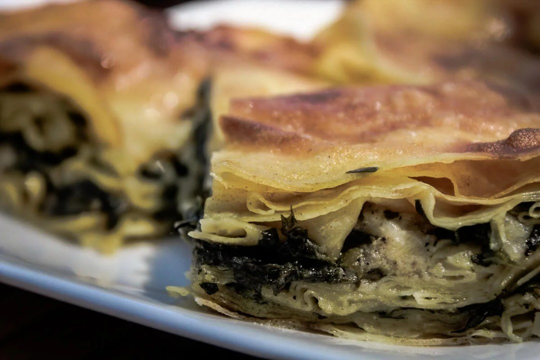 Athens Food: Spanakopita