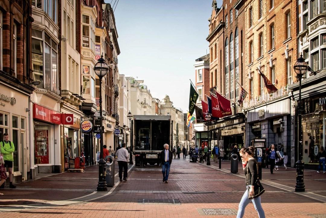 2 Days in Dublin Itinerary: Shopping on Grafton Street