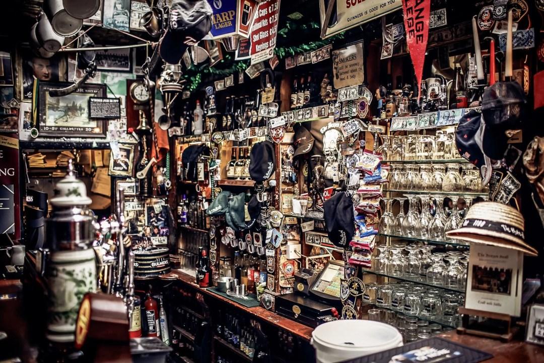 Brazen Head Pub interior
