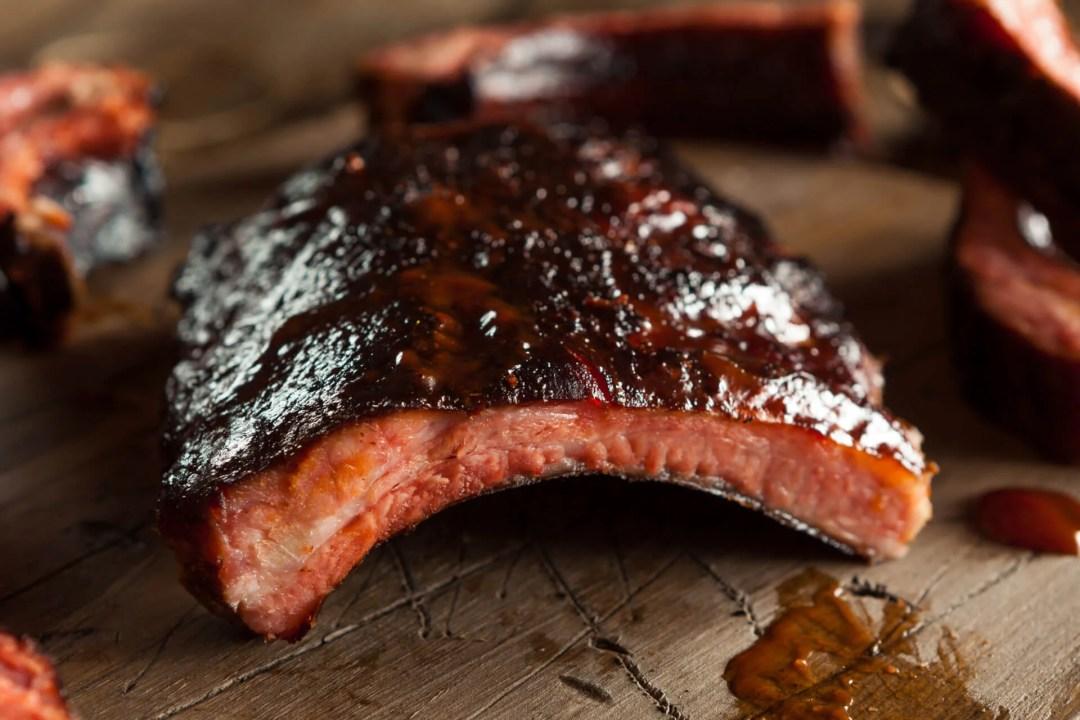 Bishops BBQ: Smoked Pork Ribs
