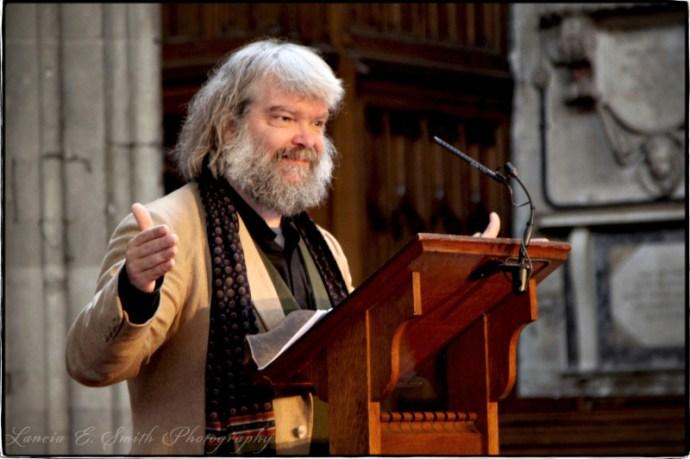 Oxbridge 2011- Rev. Malcolm-Guite- - Image copyright Lancia E. Smith and the C.S. Lewis Foundation