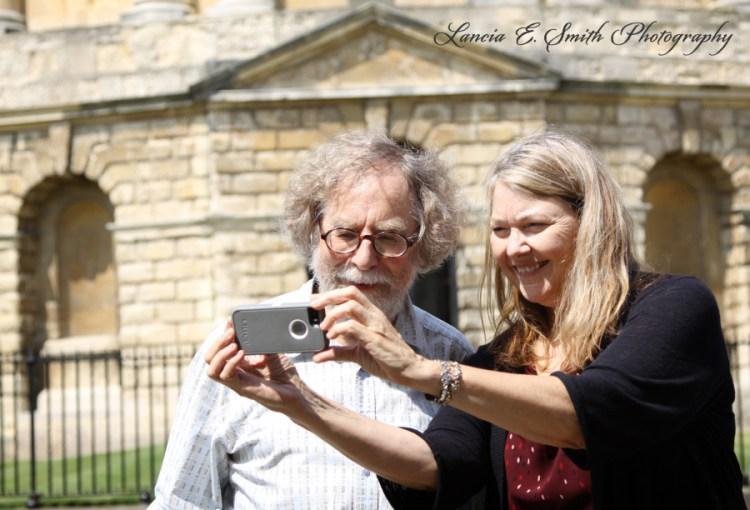 Colin and Diana selfie - Image (c) Lancia E. Smith - www.lanciaesmith.com
