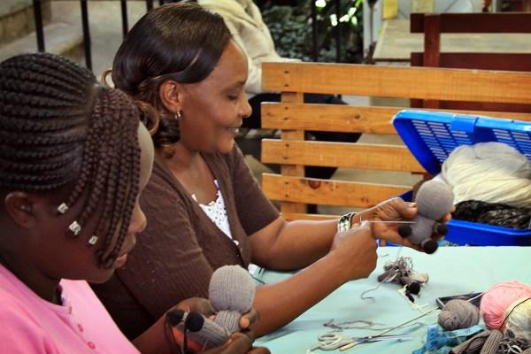 Kenana Farm Knitters - Image (c) Pahtyana Moore