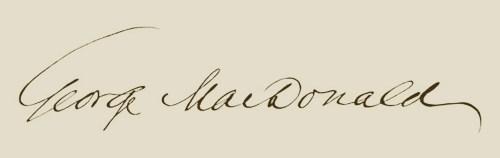 George MacDonald Signature