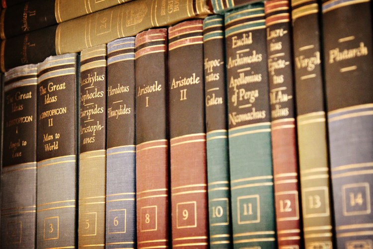 Great Books 1 - Image (c) Lancia E. Smith