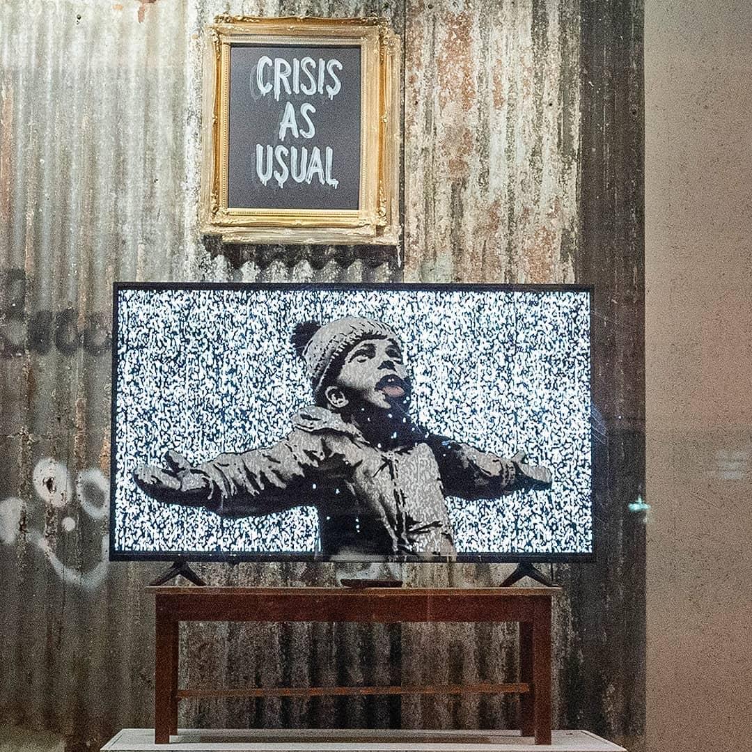 Banksy sacará su propio merchandising desde 10£ vía online