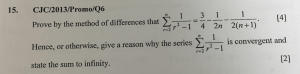 Question 15 CJC/2013