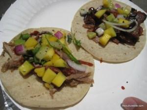 Kung Fu Tacos Duck and Pork Tacos