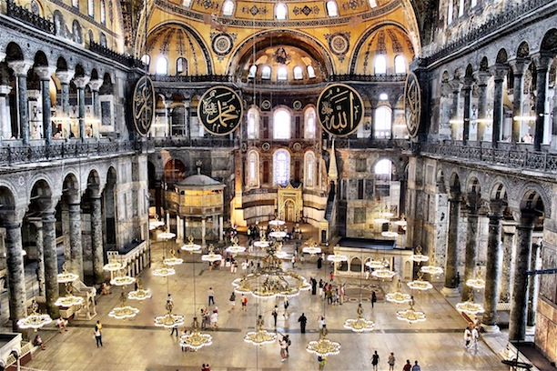 Travel The World Icons Of Istanbul This Photo Was Taken From Second Floor Hagia Sophia Were Grandeur And Splendor Architecture Can