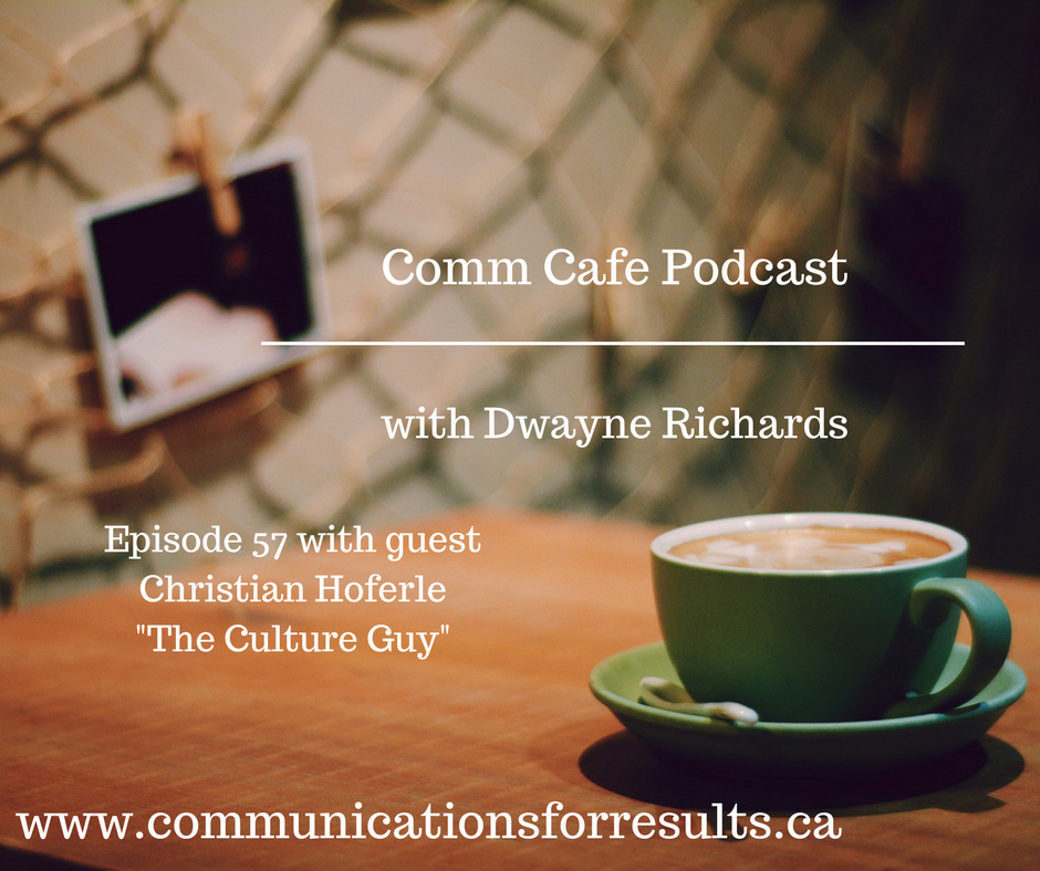 Christian Höferle on the Comm Cafe Podcast