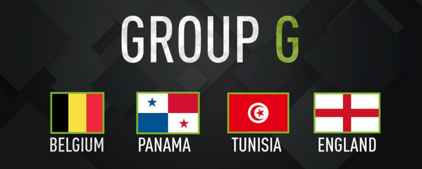 World Cup 2018 Group G