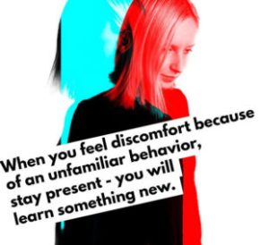 discomfort new learning