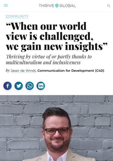 Christian Höferle Thrive Global