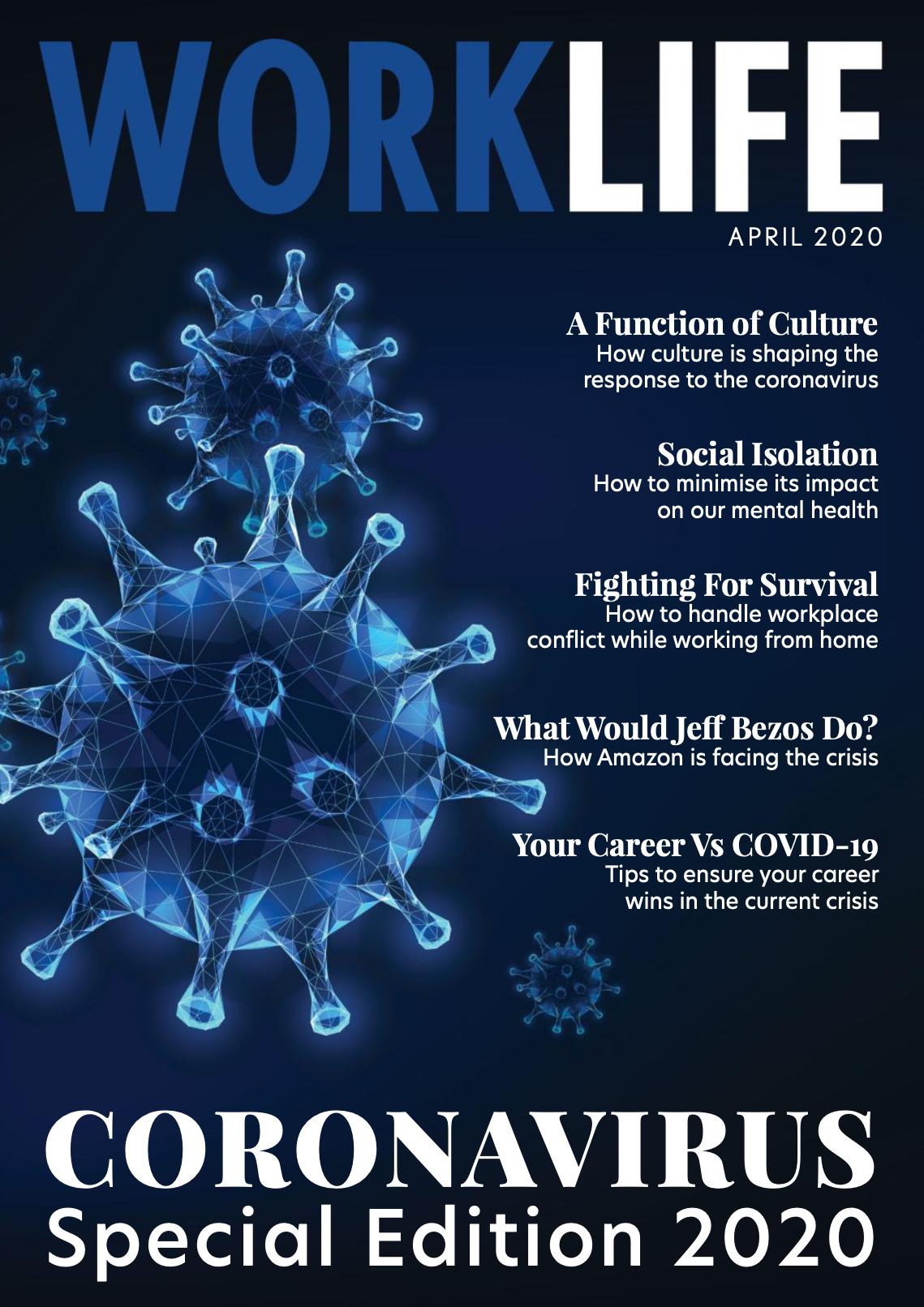 WMHI Coronavirus Special Edition Cover