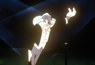 Bugs Bunny, possibly the world's most famous conductor.
