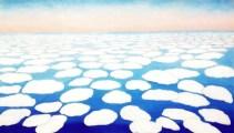 O'Keeffe, Sky Above Clouds II, 1963