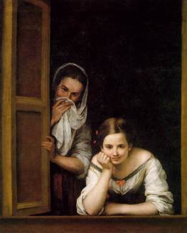 Murillo, Two Women at a Window, c.1655-60