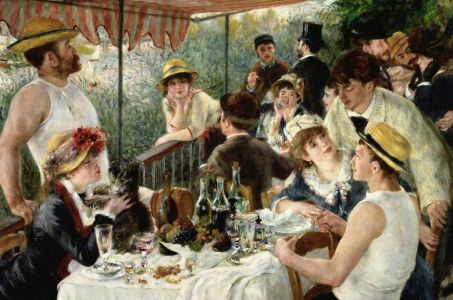 Renoir 'The Luncheon of the Boating Party', 1881