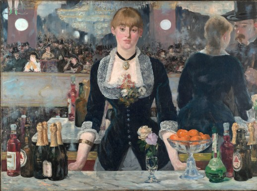 Manet, 'The Bar at the Folies-Bergere', 1882