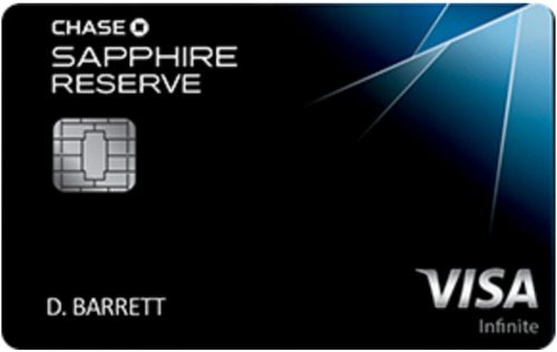The Chase Sapphire Reserve Travel Credit Card Perks And