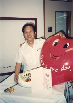 1991 at the Hong Kong Castle Peak Hospital 1991年攝於香港青山醫院