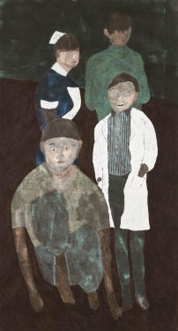 1989 水墨 設色 紙本 Ink and Colour on Paper 179 x 97 cm